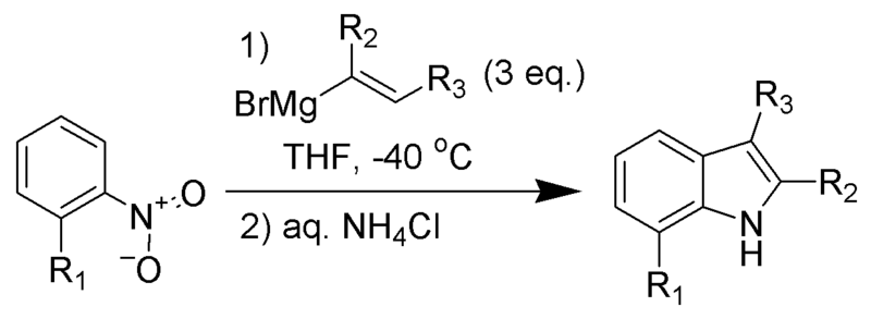 Archivo:Bartoli Indole Synthesis Scheme.png