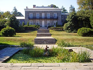 Bartow-Pell Mansion landmark and museum located in Pelham Bay Park, New York City