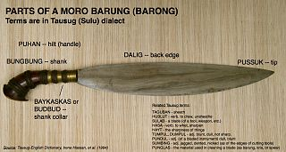 Barong (sword) Sword or knife
