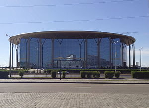 Die Barys Arena in Astana (August 2015)