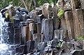 Basalt Columns at Rochester Falls in Mauritius.jpg
