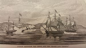 Battle of Valparaíso - Image: Battle of Valparaiso