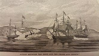 Battle of Valparaíso - Image: Battle of Valparaiso