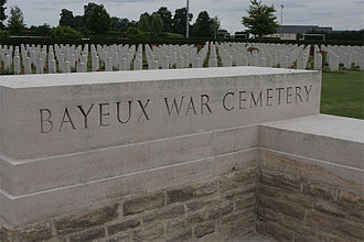 Bayeux Commonwealth War Graves Commission Cemetery - Image: Bayeuxcemetery 01