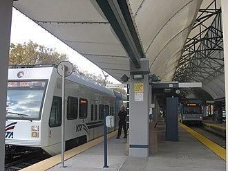 Baypointe station - Image: Baypointe VTA 2166 05