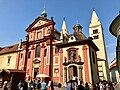 Bazilika Svatého Jiří, Pražský Hrad, Hradčany, Praha, Hlavní Město Praha, Česká Republika (48791537313).jpg