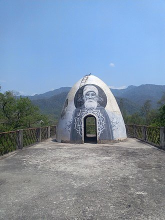 Beatles Ashram - Rooftop meditation dome (pictured in 2017)