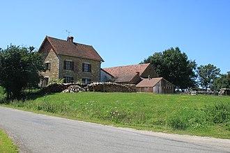 Beauvernois - Image: Beauvernois Dorfzentrum