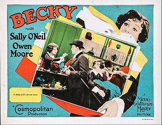 Becky (film) - Lobby card