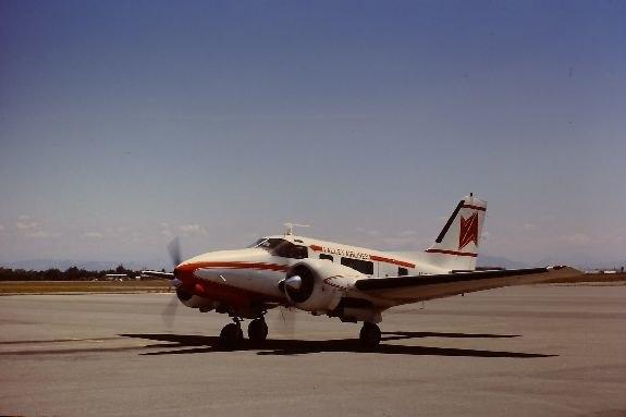Beech E-18