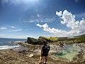 Bel-at and Tidal pool - Biri Rock Formation, Northern Samar.jpg