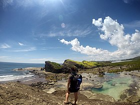 Bel-at and Tidal pool - Biri Rock Formation, Northern Samar.jpg