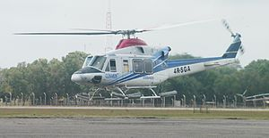 Bell 412 - Bell 412EP (offshore configuration) test flight at Ratmalana Airport