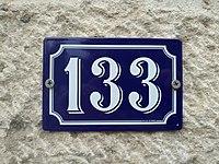 Belleville - Numéro de rue 133 (mai 2019).jpg