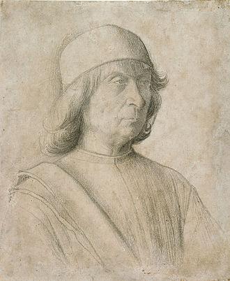 Gentile Bellini - Gentile Bellini, self-portrait, 1496