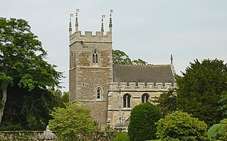 Belton, Lincolnshire - Image: Belton Church South