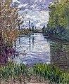 Bemberg Fondation Toulouse - Le petit bras de la Seine en automne - Gustave Caillebotte ca1890 Inv.2034 65.5x54.jpg