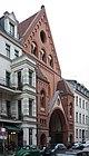 Berlin-Mitte, Auguststraße, the church St.Johannes Evangelist.JPG