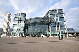 Berlin Hauptbahnhof (Berlin Central Station)