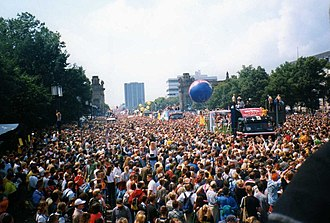 Love Parade - Loveparade 1998 in Berlin