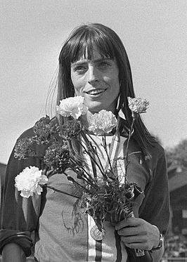 Berny Boxem-Lenferink in 1972