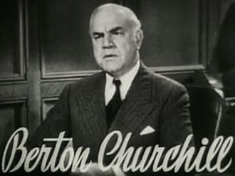 Berton Churchill - Berton Churchill in Vagabond Lady (1935)