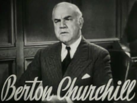 Berton Churchill in Vagabond Lady trailer