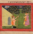 Bhai Bala and Bhai Ajit visit Bhai Lalu the carpenter - Unknown, Sikh School - Google Cultural Institute.jpg
