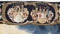 Bibliska historien. Bebådelsen. Efter konservering. Beställarens vapen - Skoklosters slott - 87034.tif
