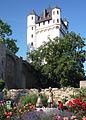 Biedermeier-Pärchen und Kurfürstliche Burg Eltville.jpg