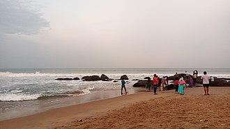 Covelong - Image: Big Rocks in Beach