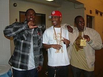 Clipse - Clipse and rapper Big Sean in 2009.