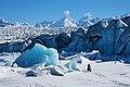 Biking at Knik Glacier. Chugach Mountains, Alaska (33321928140).jpg