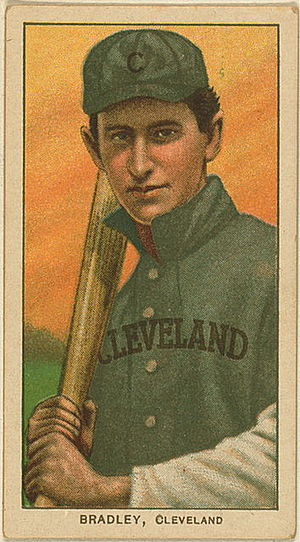 1901 Cleveland Bluebirds season - Blues' starting third baseman Bill Bradley