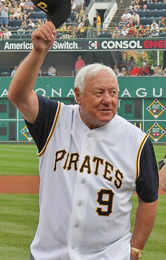 Bill Mazeroski - Mazeroski at PNC Park for the 50th Anniversary celebration of the 1960 World Series