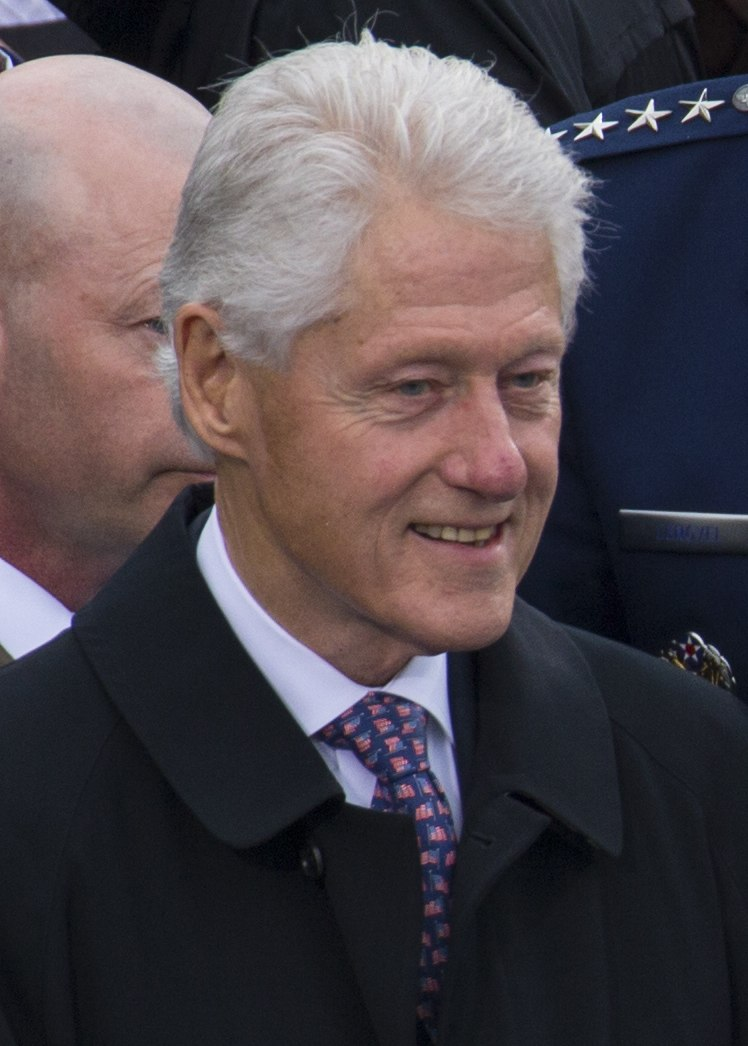 Bill and Hillary Clinton at 58th Inauguration 01-20-17 (cropped) (cropped)
