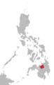 Binukid language map.png