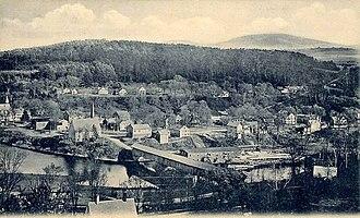 Bath, New Hampshire - View of Bath c. 1905