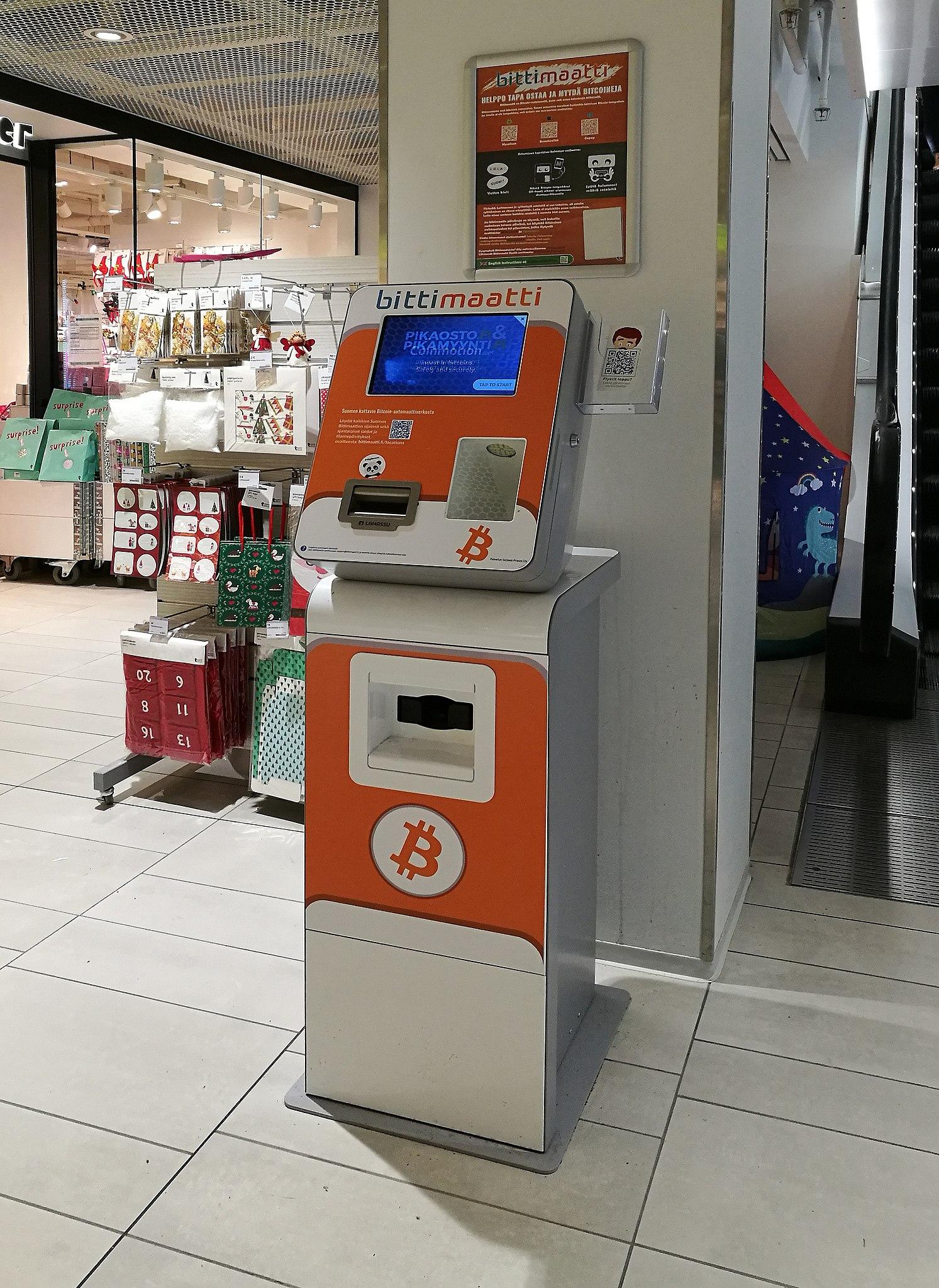 Bitcoin 2-way ATM, Helsinkis — Kellosaarenranta