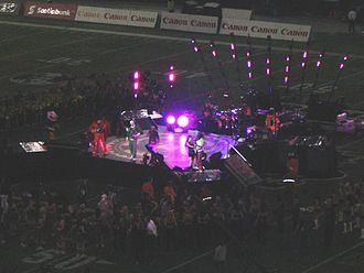 The Black Eyed Peas - The Black Eye Peas performing in the 2005 Grey Cup halftime show