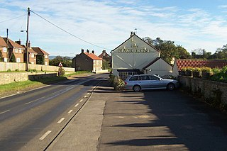 Ainderby Quernhow village and civil parish in the Hambleton district of North Yorkshire, England
