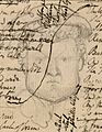 Blake manuscript - Notebook - page 012-Head of a King.jpg