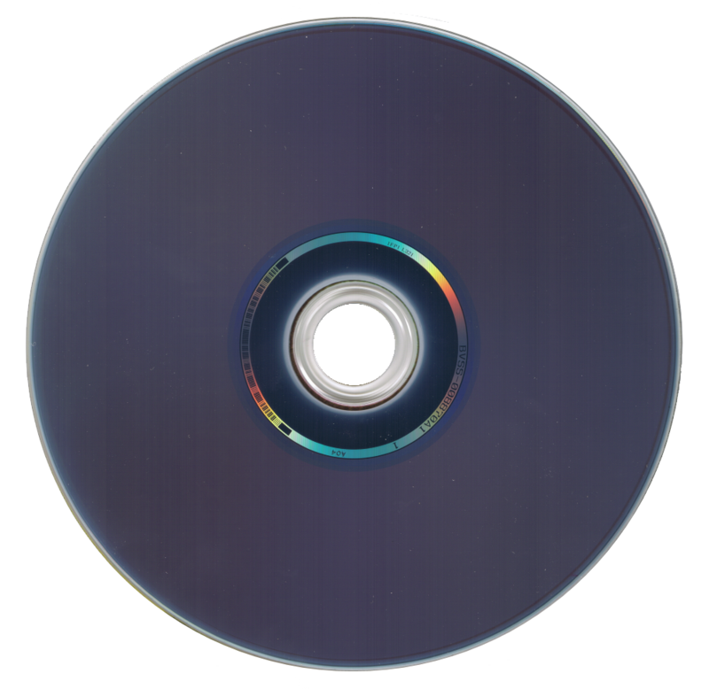 Reverse side of a Blu-ray