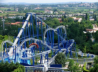 Suspended Looping Coaster - Image: Blue Tornado