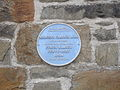 Blue Plaque, Bridgend Flannel Mill, Llanidloes (3502144942).jpg