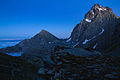 Blue hour at the Rifugio Giacoletti (15027469784).jpg