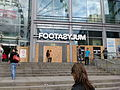 Boarded up Footasylum at Manchester Arndale, 2011 riots (close).jpg