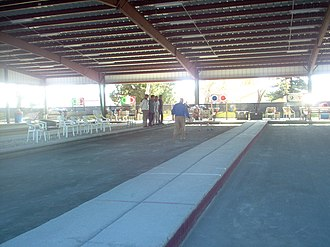Bocce - Bocce play in Cape Coral, Florida, US in 2007