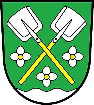 Bochovice - Image: Bochovice znak