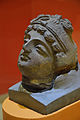 Bodhisattva Head - Stucco - ca 2nd Century CE - Gandhara - Near Peshawar - ACCN P9-A23303 - Indian Museum - Kolkata 2016-03-06 1863.JPG
